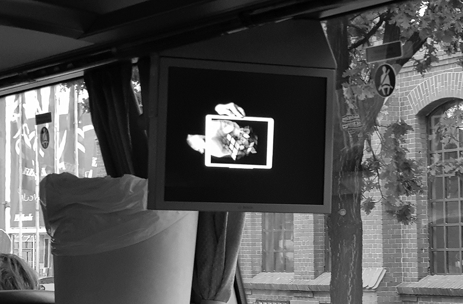 video on the bus